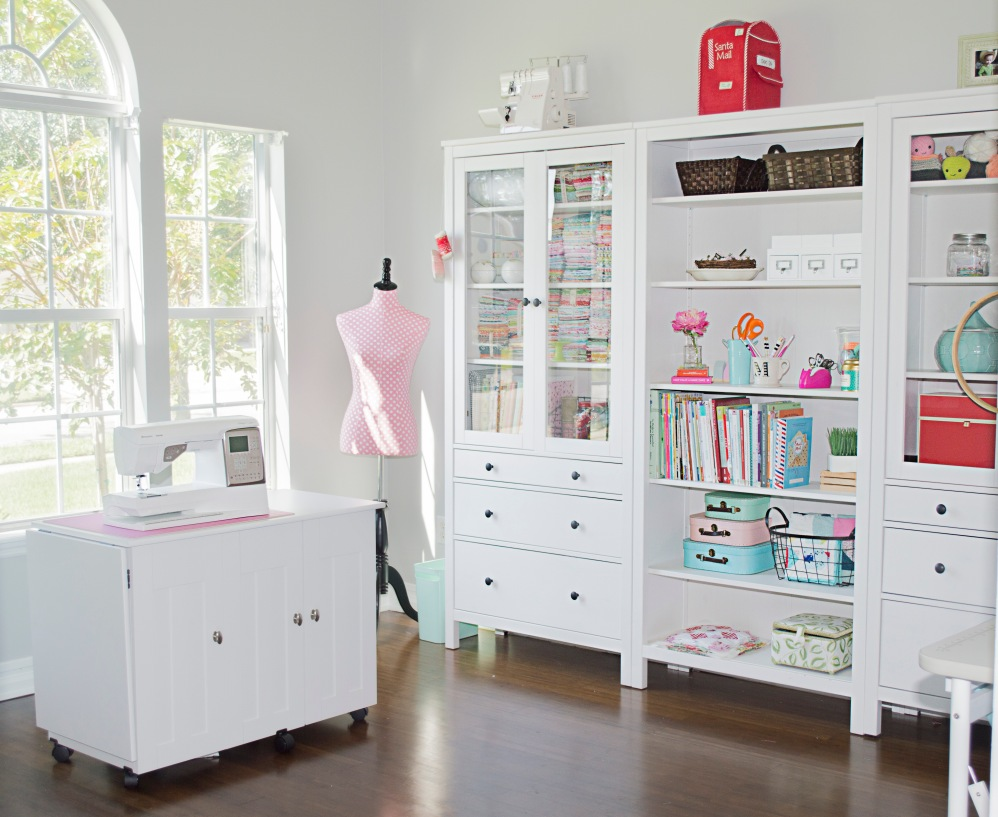 Storage For Craft Room: A Peek Into My Sewing Studio